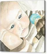 My Grandson Canvas Print
