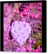 My Heart Pains Me To Be Without You 3 Canvas Print