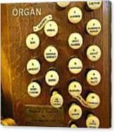 My Ideal Organ Canvas Print