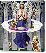 My Irish Angel Canvas Print