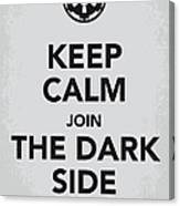 My Keep Calm Star Wars - Galactic Empire-poster Canvas Print