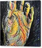 My Left Hand 3 Canvas Print