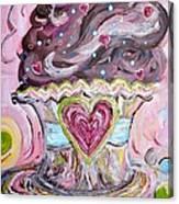 My Lil Cupcake - Chocolate Delight Canvas Print