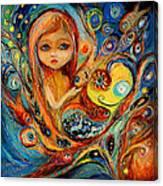 My Little Mermaid Betsy Canvas Print