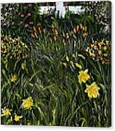 My Neighbor's Garden Canvas Print