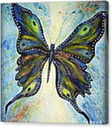My Peacock Butterfly Canvas Print