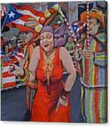 My Puerto Rican Parade Canvas Print