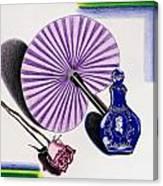 My Purple Fan Canvas Print