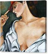 My Red Hat Canvas Print