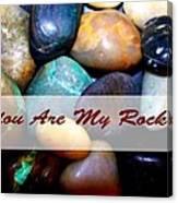 My Rock Canvas Print