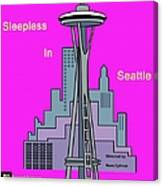 My Sleepless In Seattle Movie Poster Canvas Print