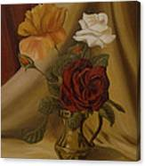 My Small Roses Canvas Print