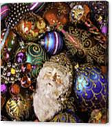 My Special Christmas Ornaments Canvas Print