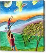 My Spiritual Metamorphosis Canvas Print