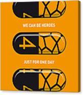 My Superhero Pills - The Thing Canvas Print