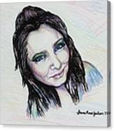 My True Colors Canvas Print