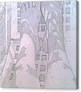 My Two Feet Canvas Print
