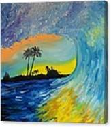 My Wave Canvas Print