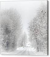 My Way Home Canvas Print