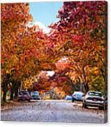 My Way Home.... Canvas Print