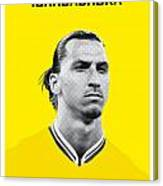 My Zlatan Soccer Legend Poster Canvas Print