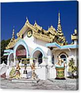 Myanmar Buddhist Temple Canvas Print
