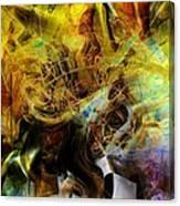 Mycelium Scene Canvas Print