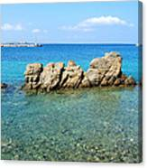 Mykonos Blue Aegean Canvas Print
