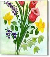 Myriad Colors Canvas Print