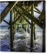 Myrtle Beach Pier Canvas Print