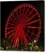 Myrtle Beach Sky Wheel Canvas Print