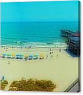 Myrtle Beach South Carolina Canvas Print