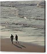 Myrtle Beach Walking Buddies Canvas Print