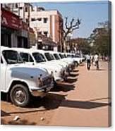 Mysore Taxis Canvas Print