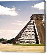 Mysterious Chichen Itza Canvas Print