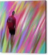 Mysterious Color Canvas Print