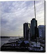 Mystery Of The Missing P Aka Pier 17 Canvas Print