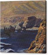 Mystery Shore Canvas Print