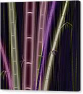 Mystic Bamboo Canvas Print