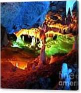 Mystic Caverns Canvas Print