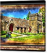 Mystic Church - Featured In Comfortable Art Group Canvas Print