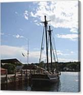 Mystic Harbor - Ct Canvas Print