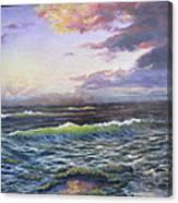 Mystic Morn Canvas Print