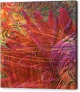 Mystical Dahlia Canvas Print