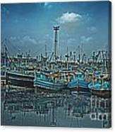 Mystical Harbor Canvas Print