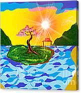 Mystical Island Canvas Print