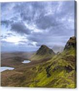 Mystical Landscape On Skye Canvas Print