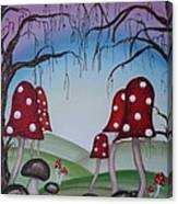 Mysticle Forest Canvas Print