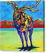 Mythical Elk Canvas Print