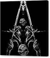 Mythology And Skulls 2 Canvas Print